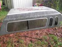 I have a older ford F150 long bed camper shell ! I'm
