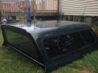 Green F150 camper Will fit 1997 to 2003 F150  Came off