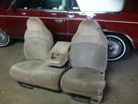 These seats came out of a late 90's ford f150 truck