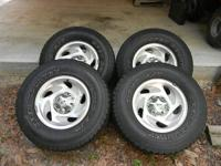 I have 4 Toyo Open Country AT tires mounted on 17 inch