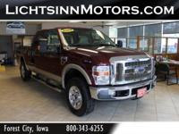 This F250 Super Duty is ready to pull. Powered by the
