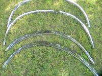For Sale is a used set (4) of fender molding for a Ford