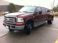 2006 FORD SUPER DUTY F-350 DRW KING RANCH FX4 POWER