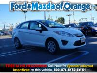 Fiesta SE, Ford Certified, 1.6L I4 Ti-VCT, 6-Speed