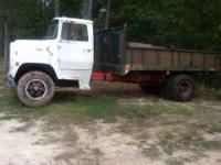Cranks and runs good, would be good farm truck $1500.00