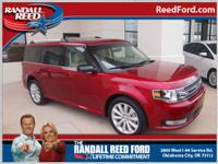 Set your sights on this red 2014 Ford Flex SEL. It has