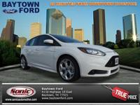 Load your family into the 2014 Ford Focus ST! Very