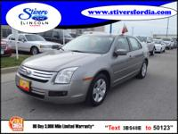 Great buy on this vehicle....2008 Ford Fusion V6 SE.