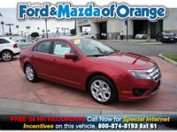 Fusion SE, Ford Certified, 4D Sedan, 2.5L I4, 6-Speed,