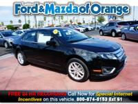 Fusion SEL, Ford Certified, 4D Sedan, 3.0L V6 Flex