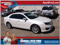 This white 2012 Ford Fusion SEL might be just the sedan