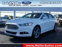 It's hard to resist this oxford white 2014 Ford Fusion
