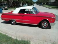 FOR SALE:1960 FORD SUNLINER 2 DOOR CONVERTIBLE THIS IS