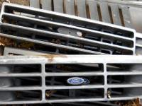 THESE FORD GRILLS ARE IN GOOD CONDITION WILL CLEAN UP
