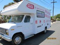 "For sale 20"" Ford HONEY RV, with only 61.000 miles,"