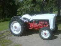Ford Jubilee - runs good and in very good condition Bob