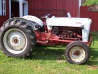 1950 Ford Jubilee tractor, very good condition. Four