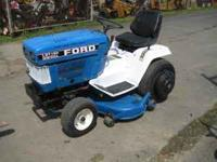ford commercial riding mower, 3 cylinder diesel, power