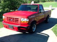 1993 ford lightning, truck is being sold as a project