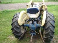 1964 Ford 4000 Industrial Tractor/Loader 45 Hp Gasoline