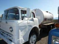 1965 Ford water truck with Honda pump and 2000 gallon