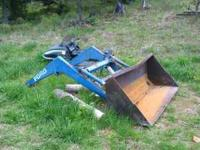 For Sale, Model # 772 Loader, Bucket and hyd drive for