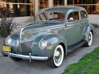 1939 Ford Deluxe Tudor Sedan VIN: 185161773 This