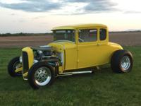 Beautiful 1930 Ford Model A 5 Window Coupe. Original