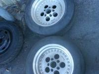 Ford or Dodge 5x4.50 Bolt Pattern Champ 500 Wheels Two