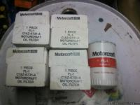 For sale 5 Ford Motor craft oil filters fl-1