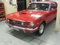 Ford Mustang 1965 on good conditions like brand new..