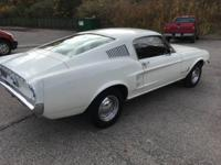 All original numbers matching Ford Mustang fastback