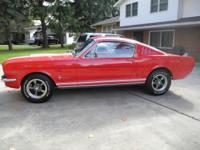 1965 Mustang Fastback The car is in excellent condition