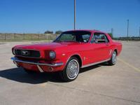 The one everyone wants ! 1966 Ford Mustang just in from