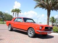 1966 Ford Mustang Notchback Coupe. Restored and ready