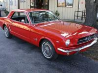 1965 Ford Mustang show quality throughout, smooth