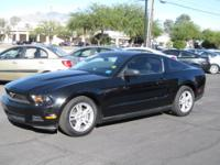 For sale is a beautiful 2010 Black Ford Mustang. This