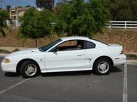 Up for Sale is my 1994 Ford Mustang. The car currently
