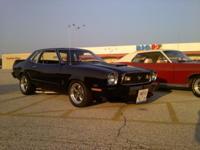 1977 Mustang II Pro-Touring. 347 Stroker full roller-