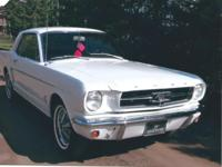 1965 Mustang coupe. I purchased this car in Los Vegas,