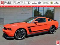 2012 Ford Mustang Boss 302 in Competition Orange with