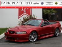 Rare 2001 Roush Stage III Ford Mustang Convertible.