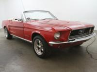 1967 Ford Mustang Convertible V8 1967 Ford Mustang