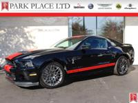 2013 Ford Shelby GT500 Coupe in Black with Red Racing