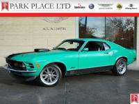 1970 Ford Mustang Mach 1 in Grabber Green with Black