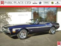 1972 Ford Mustang Convertible in Dark Blue Metallic