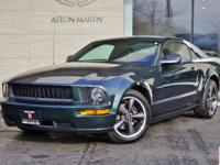 2008 Ford Mustang Bullitt Coupe in Highland Green with