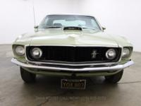 1969 Ford Mustang Coupe1969 Ford Mustang Coupe in its