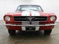 1965 Ford Mustang Coupe1965 Ford Mustang Coupe in red