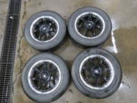 Like new set of American Racing Wheel Motegi FF7